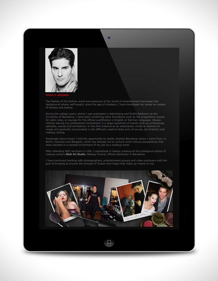 DAVID DOCANDO - All projects, Graphic design, Website - DOCSTUDIO ...